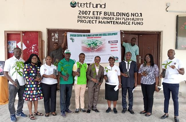 Read more about the article ACCARD launches tree planting exercise at Effurun petroleum varsity